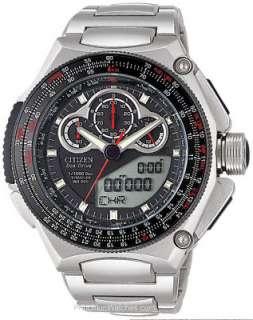 Citizen Eco Drive Promaster SST Race Chronograph Titanium Watch JW0030