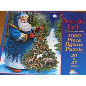 1000 Piece Christmas Jigsaw Puzzle Featuring Santa and a Christmas