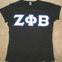 CUSTOM Zeta Phi Beta baby doll t shirt