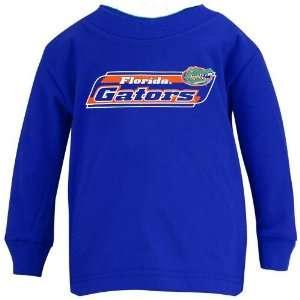 Florida Gators Royal Blue Toddler High Tech Wordmark Long