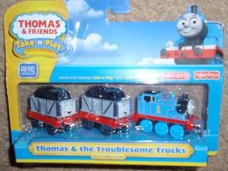 Thomas & Friends Take N Play THOMAS TROUBLESOME TRUCKS