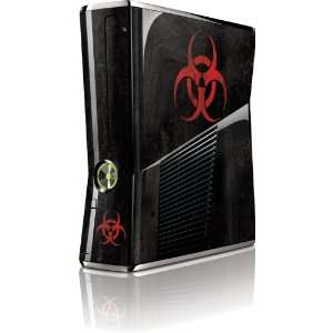 Skinit Biohazard Red Vinyl Skin for Microsoft Xbox 360