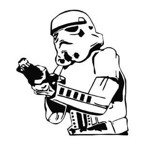 Star Wars   Stormtrooper Vinyl Die Cut Decal Sticker 6