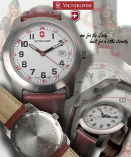 VICTORINOX SWISS ARMY, WOMEN FIELD 4.5730.4 LEATHERBAND with BOX and