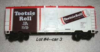 VINTAGE Chesterfield Advertising HO Train Lot #4