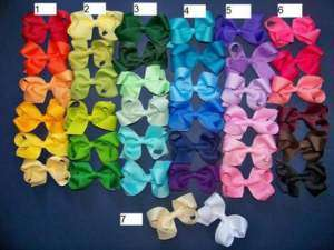 Pick 30 Girls Toddler Hair Bow Clips Hairbows Pick 30