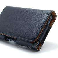 Leather Horizontal Pouch Belt Clip Holster Case For Samsung Galaxy