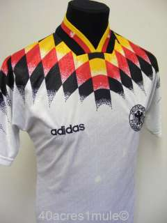 GERMANY 1994 HOME adidas FOOTBALL SOCCER SHIRT JERSEY TRIKOT SMALL