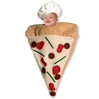 BABY BUNTING PIZZA INFANT HALLOWEEN COSTUME NEW