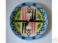 FUNCTIONAL ART   CERAMIC   SOUTHWEST   WALL CLOCK