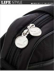BN Puma Black Vintage Runner Shoulder Messenger Bag