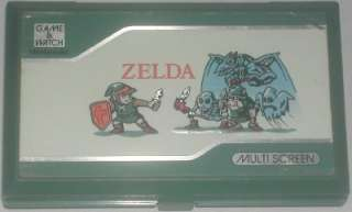 Nintendo Game & Watch Multi Screen ZL 65 Zelda 1989