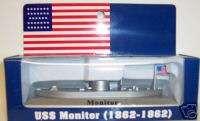 CIVIL WAR MONITOR METAL FIGURINE BOAT SHIP 5