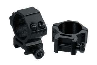 Leapers AccuShot Premium 30mm Weaver Style See Thru Low Profile Rings