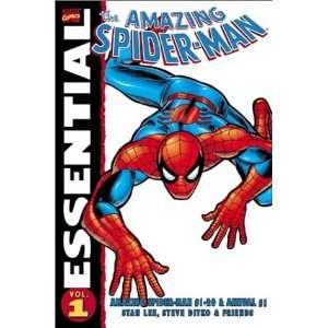 Amazing Spider Man 1 (Essential (Marvel Comics))  Stan Lee