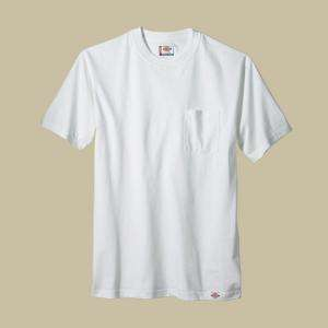 Dickies Extra Large White Pocket T Shirts (2 pack) 1144624WHXL at The