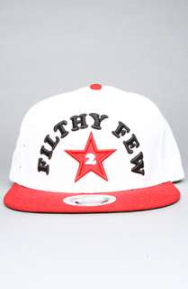 TRUKFIT The Filthy Few Snapback Cap in White Red : Karmaloop