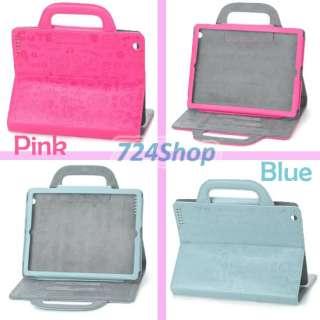 Handbag Case Cover fr Apple iPad 2 Cases White Black Beige Blue Pink
