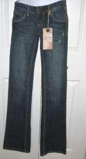* RED CAMEL WOMEN BOOT CUT BLUE JEANS SZ 1 ($48.00) KATIE FIT