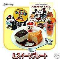 Dollhouse miniatures Disney Mickey Mouse Cheese Cake
