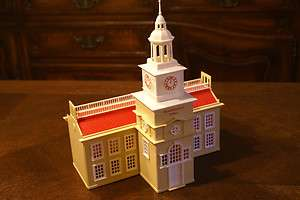 Vintage Bachmann Plasticville City Independence Hall Model Train O S