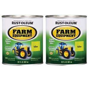 Rust Oleum Specialty 32 oz. John Deere Yellow Farm Equipment