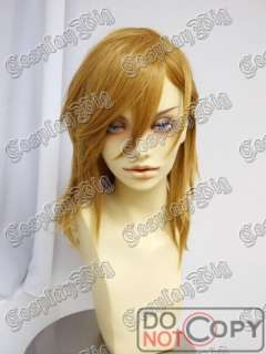 UTA NO PRINCE REN short GOLDEN BLONDE cosplay wig