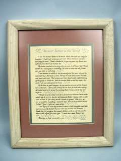 Meanest Mother In The World Plaque by Laura Leiden 044642701277