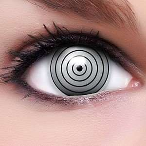 Farbige Anime Crazy Fun Kontaktlinsen Rinnegan mit gratis
