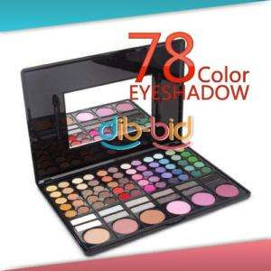 Pro 78 Full Color Fashion Gloss Lips Palette Eyeshadow