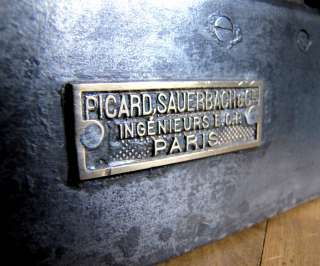 FRENCH Antique machine age letter mail box from   LA POSTE   1930