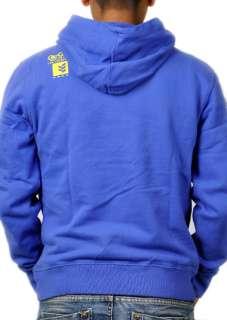 Gio Goi Pullover Hoodie in Blau   Männer   NEU