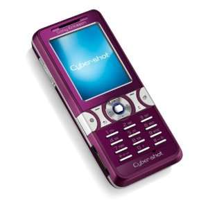 Sony Ericsson K550i Plum Ruby Handy  Elektronik