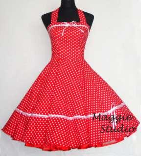 50er Jahre Tanz Cocktail Kleid z. Petticoat Rockabilly