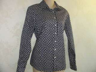 New ~~~~ LANDS END shirt No Iron Pinpoint Oxford ~~~~ 10