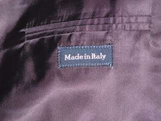 1,395 NWT RALPH LAUREN POLO 2 MENS MADE IN ITALY NAVY WOOL STRIPED