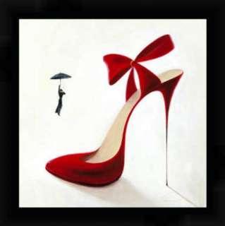 Kunstdruck Poster Inna Panasenko Highheels   Obsession