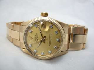 Rolex Woman Gold &diamond