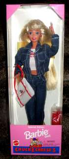 NRFB 1995 Chucke Cheese Cheeses Exclusive Barbie Doll