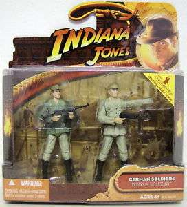 GERMAN SOLDIERS Indiana Jones Raiders Lost Ark Figures