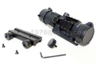 Rambo 4x33 EXT Tactical Tri Rail Scope