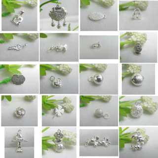 Different Design 925 Sterling Silver Pendant / Charms / Beads Multiple