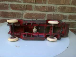 Toy International Dump Truck Farm Fresh Tractor HARVESTER RED