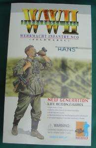 DRAGON WWII RARE GERMAN HANS ACTION FIGURE NEW NRFB WAR MILITRAY MODEL