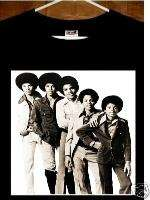 Jackson Five T Shirt; Michael Jackson; The Jackson Five