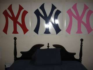 Huge New York Yankees vinyl wall sticker decal logo 3