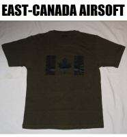 Shirt   Official Canadian Army (Subdued Canada Flag)