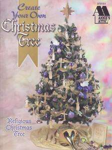 Annies Attic Create Your Own Christmas Tree~4 Themes