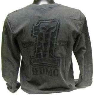 Mens Knit Shirt Harley Davidson Limited Edition L/S Slimmer Cut Patch