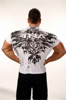 Official TNA Wrestling Skull Tattoo T Shirt